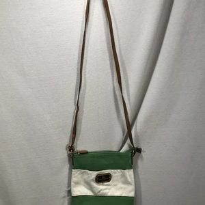 Tommy Hilfiger Bags - Tommy Hilfiger Cross Body Purse bag Cloth Leather